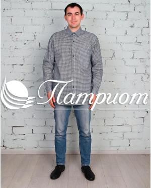 Рубашка мужская бязь длинный рукав